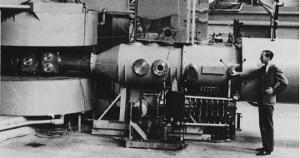 Mendelevium was first made in the 60 inch Berkeley cyclotron