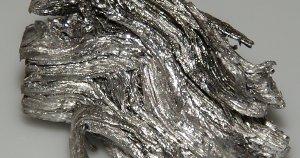 Holmium metal.
