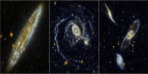 Nasa image: Vast quantities of hydrogen in remote galaxies