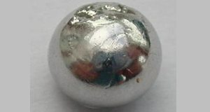 1 gram bead of high-purity ruthenium